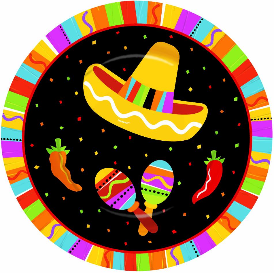 d7d76df592a93 Prato de Sobremesa Festa Mexicana - Tema Mexicano - Artigos para ...